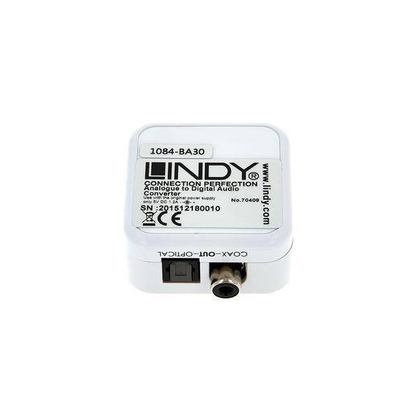 0.5m LINDY TosLink SPDIF Digital Optical Cable