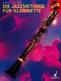 Schott - Die Jazzmethode Für Klarinette