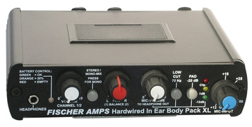 Fischer Amps - In Ear Body Pack XL