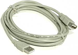 pro snake - USB 2.0 Extension Cable 3m