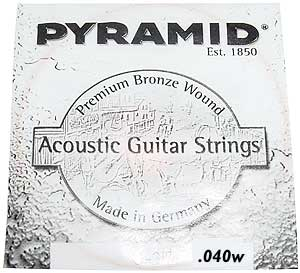 Pyramid - 040 Single String
