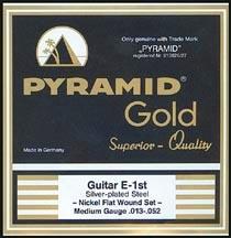 Pyramid - Gold Flatwound 412100