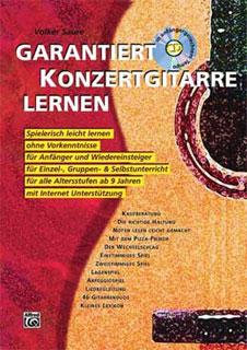 Alfred Music Publishing - Garantiert Konzertgit. Lernen