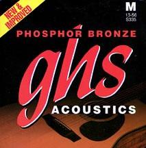 GHS - S335 Phosphor Bronze Medium