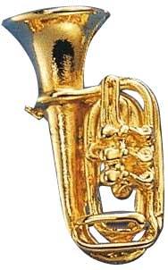 Art of Music - Pin Tuba