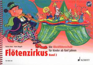 Schott - Flötenzirkus Vol.2 +CD