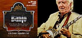 GHS - PF140 JD Crowe Banjo Set