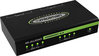 M-Audio - MIDISport 4X4 AE USB