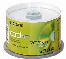 Sony - CD-Q 80 SB 700MB x50