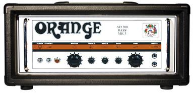 Orange - AD200B Mk3 Black