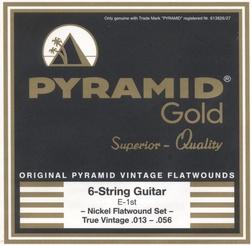 Pyramid - Gold True Vintage Flatwound