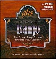 GHS - PF180 5-String Banjo Set