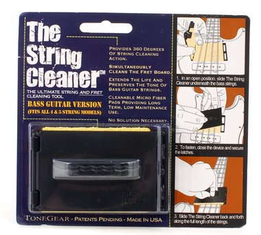 Tonegear - The Stringcleaner for Bass