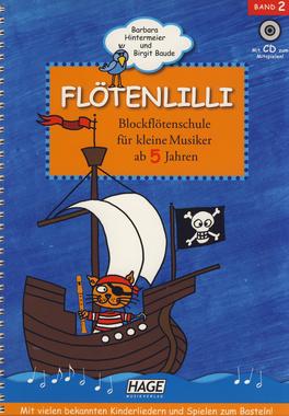 Hage Musikverlag - Flötenlilli Recorder Vol.2