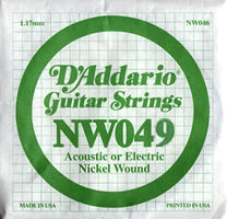 Daddario - NW049 Single String