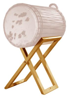 Afroton - ABST 435 Bass Drum Stand