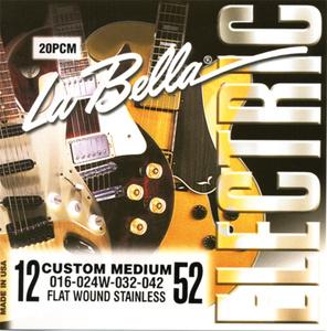 La Bella - 20PCM Jazz Flats FWSS