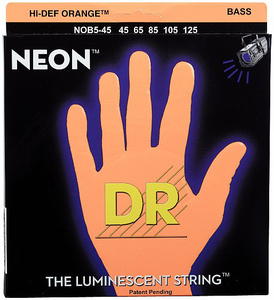 DR Strings - HiDef Neon Orange NOB-5-45