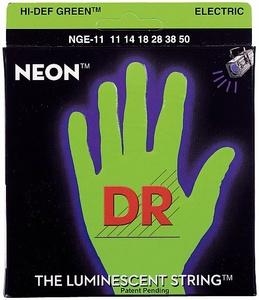 DR Strings - HiDef Neon Green Heavy NGE-11