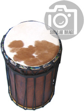 African Percussion - Sangba Bass Drum