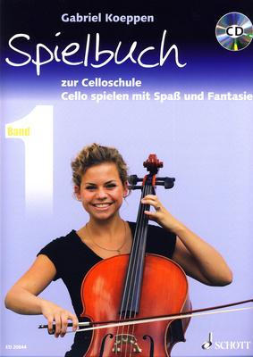 Schott - Celloschule Spielbuch 1