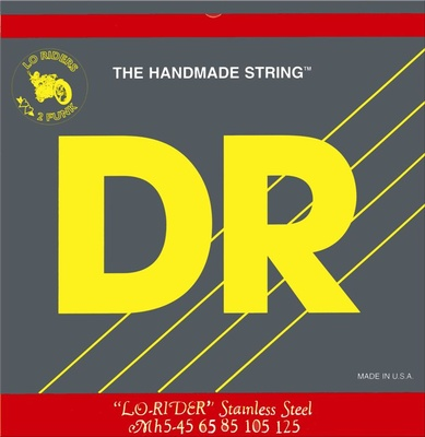 DR Strings - Lo Rider 045-125 Stainless