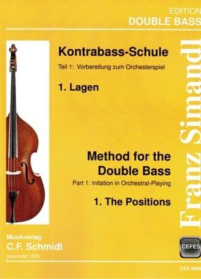 C.F. Schmidt Musikverlag - Simandl Method Double Bass 1