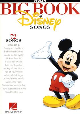 Hal Leonard - The Big Book Of Disney Violin