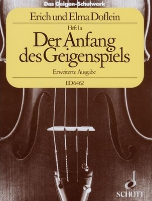 Schott - Doflein Geigen-Schulwerk 1a