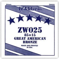 Daddario - ZW025 Single String