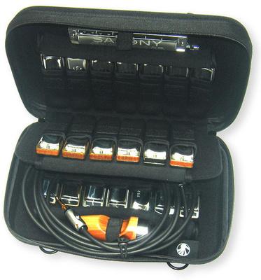 C.A. Seydel Söhne - Hardcover case 20 harmonicas