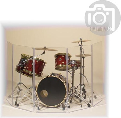 Clearsonic - A2448x5 (A4-5) Drum Shield
