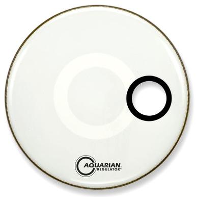 Aquarian - 24' Regulator White Bass Drum