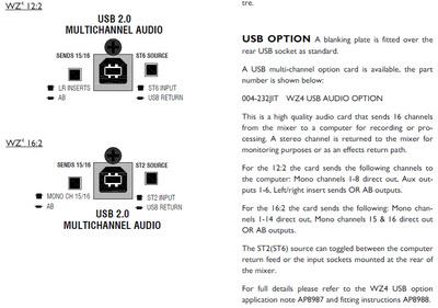 Allen & Heath - W4-USB