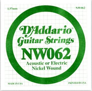 Daddario - NW062 XL Single String