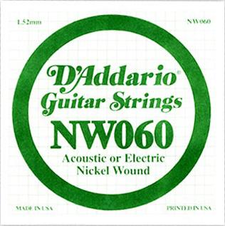 Daddario - NW060 Single String