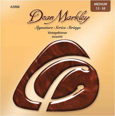 Dean Markley - Vintage Bronze 2006A Med 13-56