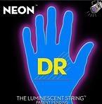 DR Strings - HiDef Blue Neon Medium5 45-125