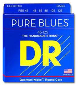 DR Strings - Pure Blues Bass Medium 45-125