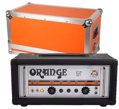 Orange - AD200B Mk3 Black Bundle