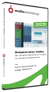 Audio Workshop - Orchestral Library Toolbox DVD