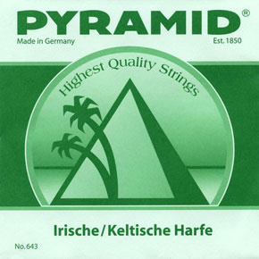 Pyramid - Irish / Celtic Harp String a3