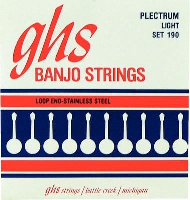 GHS - Banjo Steel 4 String Set