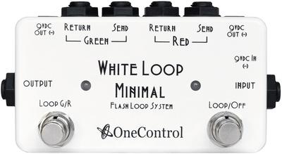 One Control - Minimal Series White Loop
