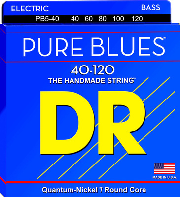 DR Strings - Pure Blues Bass 5 040-120