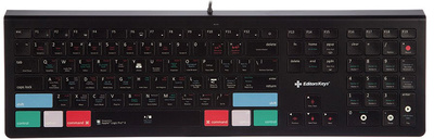 Editors Keys - Backlit Keyboard Logic X DE