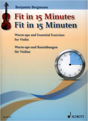 Schott - Fit In 15 Minutes Violin