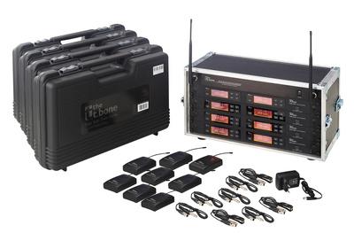 the t.bone - free solo PT 520 MHz/8 CH Rack