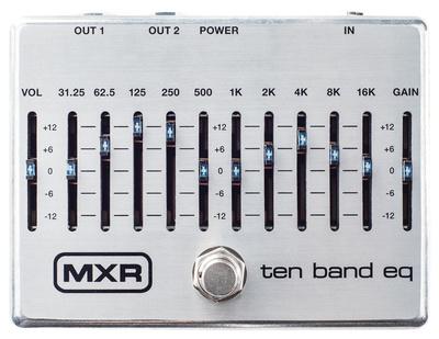 MXR - 10 Band Equalizer Silver