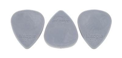 Wedgie - Rubber Picks 5,0mm Med 3erSet
